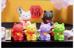 Ластики Iwako в форме кошек