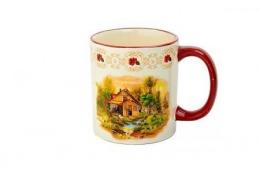 Кружка `домик в деревне` - подарок от любимой «молочной» марки