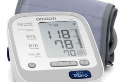 Omron m6 - тонометр для тех, кто следит за здоровьем!