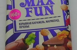 Шоколад с фейерверком