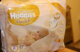 """Huggies Elite Soft - """"нежные, как мамино прикосновение"""""""