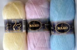 Пряжа Nako Mohair Delicate - чудесная теплая нитка