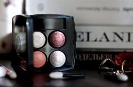 Тени Chanel Les 4 Ombres - одно удовольствие!