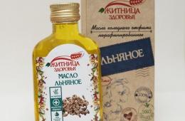 Льняное масло «Житница здоровья» – полезно для здоровья
