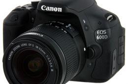 Canon 600D - отличный бюджетный фотоаппарат