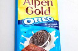 Аlpen Gold Oreo - новинка от известного всем альпен голда