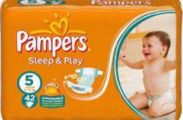Недорогие подгузники Pampers Sleep & Play, которые могут вызвать аллергию