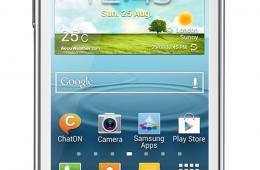 Недорогой и шустрый смартфон Samsung Galaxy Young Duos