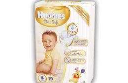 Подгузники Huggies Elite Soft - ультрамягкие и хорошо впитывающие