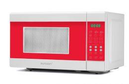 Микроволновой печь Oursson, прекрастно вписалась в дизайн кухни