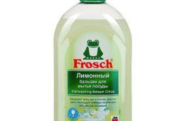 Средство Frosch - отлично отмывает посуду