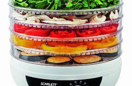 Scarlett поможет засушить витамины на зиму