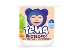 Полезный и вкусный детский творожок