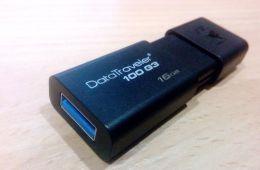 Путешествие данных, или Честно о Kingston DataTraveller 100 G3