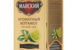"""Чай Майский """"Ароматный бергамот"""" - """"плюсы"""" и """"минусы"""""""