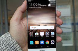 Huawei Mate 9: большой смартфон с хорошими функциями