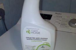 Средство для мытья ванной, которое мне не понравилось
