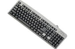 Обычная проводная клавиатура