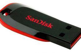 Память USB Flash SanDisk Cruzer Blade 16 Гб