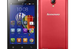 Бюджетный стильный смартфон Lenovo A2010