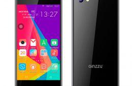 Китайский бюджетный смартфон GINZZU S5040