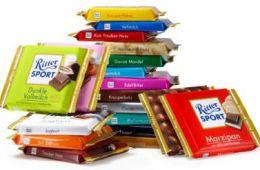 Разнообразие вкусного шоколада