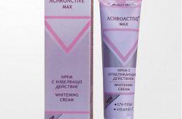 Ахроактив Макс - крем с отбеливающим эффектом, который не отбеливает