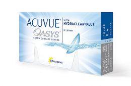 Надежные и удобные линзы Acuvue oasys