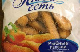 Рыбные палочки со вкусом сухарей