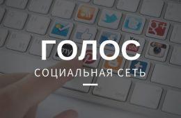 Социальная сеть Golos
