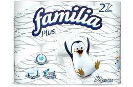 Туалетная бумага с семейкой веселых пингвинов