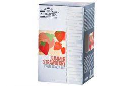Чай в пакетиках  Ahmad Tea Contemporary strawberry