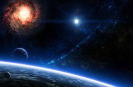 Посетили выставку «Открытый космос»