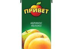 """Напиток сокосодержащий """"Привет"""" абрикосово-яблочный"""