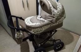 Детская коляска 2-в-1 Лео Жасмин