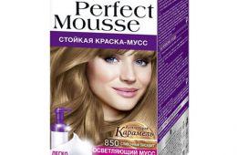 Краска для волос Schwarzkopf Perfect Mousse