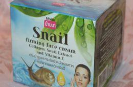 Крем из Тайланда с улиточным муцином BANNA SNAIL FIRMING FACE CREAM