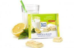 Десерт со вкусом лимона и белого шоколада
