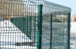 Забор для базы отдыха