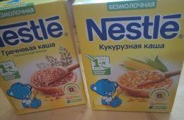 Каши Nestle как первый прикорм малыша