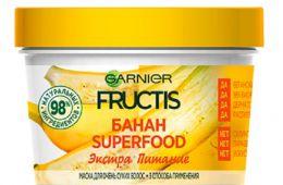 Маска Garnier Frutis для очень сухих волос SuperFOOD Банан