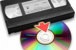 Оцифровали несколько наших старых видеокассет