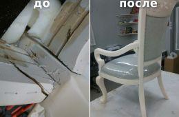 Помогли с реставрацией стула