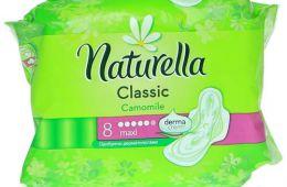 Прокладки Naturella для чувствительной возрастной кожи промежности