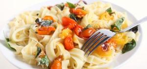 Как приготовить вегетарианскую пасту карбонара
