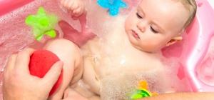 Как мыть новорожденных