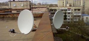Как подключить две спутниковые антенны