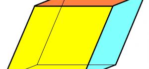 Как найти объем параллелепипеда через основание