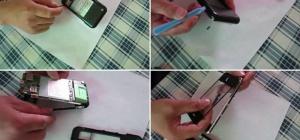Как заменить сенсорное стекло