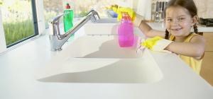 Как отмыть матовое стекло
